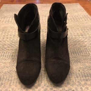Rag and bone Leather Harrow Boots